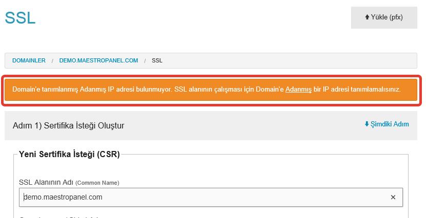 SSL kurulum (2)