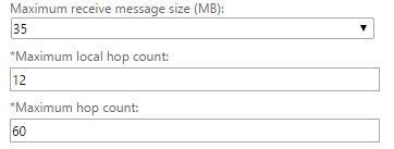 Exchange Receive Connector
