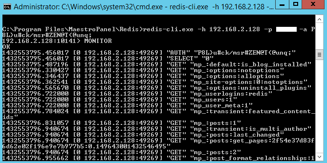 Redis-Servis-Monitor