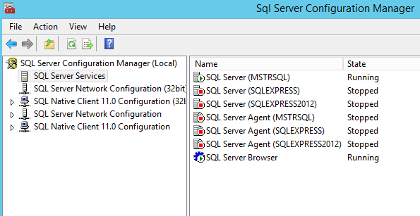 SQL Conf Manager