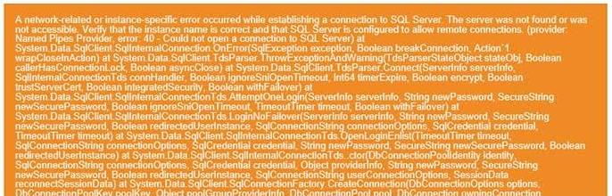 SQL Hata 2